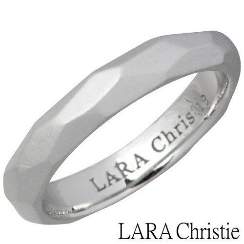 LARA Christie【ララクリスティー】 ネイキッド シルバー リング ホワイト 7〜15号 指輪 WHITE Label シルバーアクセサリー シルバー925 LA-R6032-W