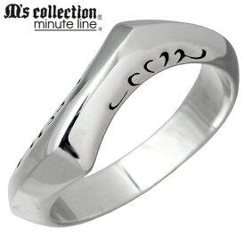 M's collection minute line【エムズコレクション】 シルバー リング レディース 7〜13号 指輪 シルバーアクセサリー シルバー925 L-660