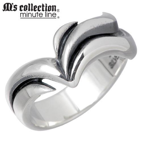 【在庫限り ポイント20倍】 M's collection minute line【エムズコレクション】 シルバー リング レディース 7号 指輪 シルバーアクセサリー シルバー925 MC-699_SALE