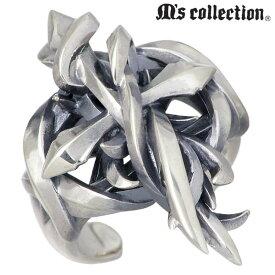 エムズ コレクション M's collection シルバー クロス リング 十字架 指輪 アクセサリー 5〜17号 シルバー925 スターリングシルバー 4S1X0278