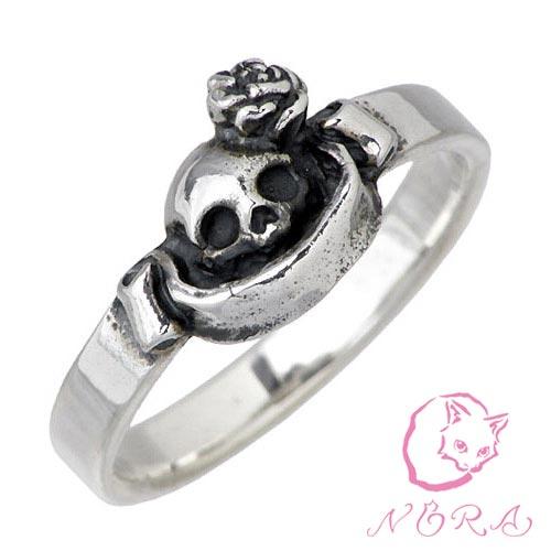 NORA【のら ノラ】 小さなピュアソウル シルバー リング 猫 ねこ ネコ 指輪 1号〜23号 シルバーアクセサリー シルバー925 NR-R-0008