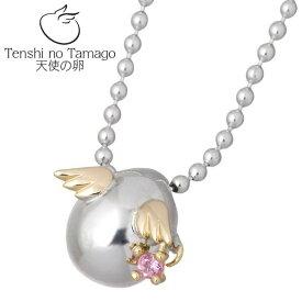 Tenshi no Tamago【天使の卵】 天使の卵 バースデー シルバー ネックレス 天使114 誕生石付き シルバーアクセサリー シルバー925 シルバー950 tenshi-114