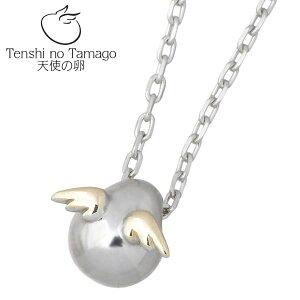 Tenshi no Tamago【天使の卵】 天使の卵 K10 ホワイト & ピンクゴールド ネックレス アクセサリー 天使169 tenshi-169