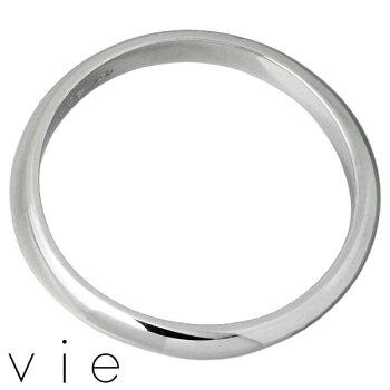 vie【ヴィー】ステンレスリング指輪メンズ13〜21号アレルギーフリー【刻印可能】