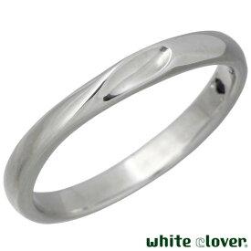 white clover【ホワイトクローバー】 リング 指輪 金属アレルギー対応 シェア ハート ステンレス 7〜30号 誕生石 刻印可能 アレルギーフリー 4SUR100M-RD