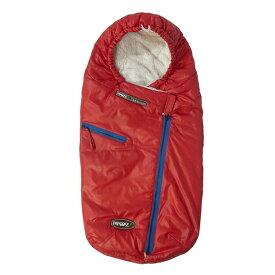 \本日は+P10倍/【セール】7AMENFANT(セブンエイエムアンファン) PAPOOSE(パプース) 0-18ヶ月用 Red ベビーカー冬の防寒カバー ベビーカー ブランケット ベビーカー フットマフ カバー