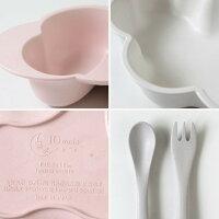 10mois(ディモア)mamamanma(マママンマ)プレートセットピンク|お食事セット食器離乳食雲の形出産祝い耐熱【あす楽】