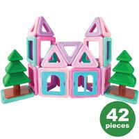 【Xmas】ボーネルンドマグ・フォーマーマイハウスセット42|おもちゃ知育玩具数学ブロック立体パズル磁石誕生日【送料無料】【あす楽対応】【ポイント10倍】★