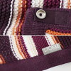Stokke stroller blanket knit purple & orange   authorized STOKKE