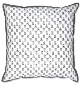 COLORIQUE/カラリクインディアンプリントクッション(インナークッション付き)【Laundry Cushion Blockprint】【RCP】