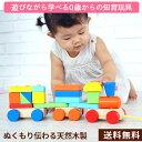 木製 電車 つむつむ 知育玩具 ブロック 0歳 からの おもちゃ カラフル 16点セット 積み木 遊びながら学べる かわいい …