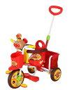 【タイムセール】【送料無料】三輪車 わくわくアンパンマンごうピース2 レッド