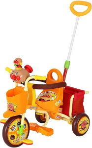 三輪車 わくわくアンパンマンごうピース2 オレンジ