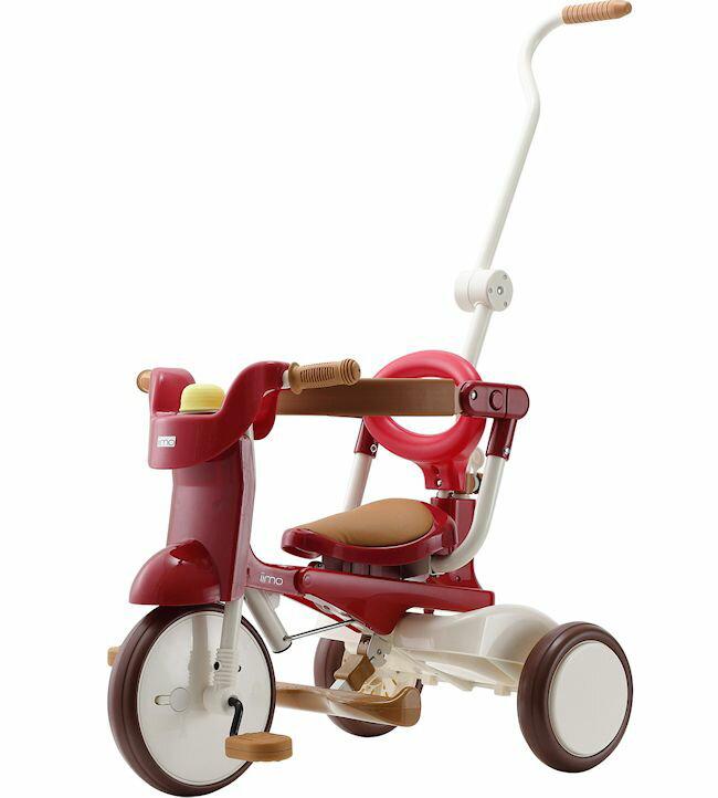 【送料無料】三輪車 iimo tricycle 02 Eternity Red(イイモ トライシクル 02 エタニティーレッド)