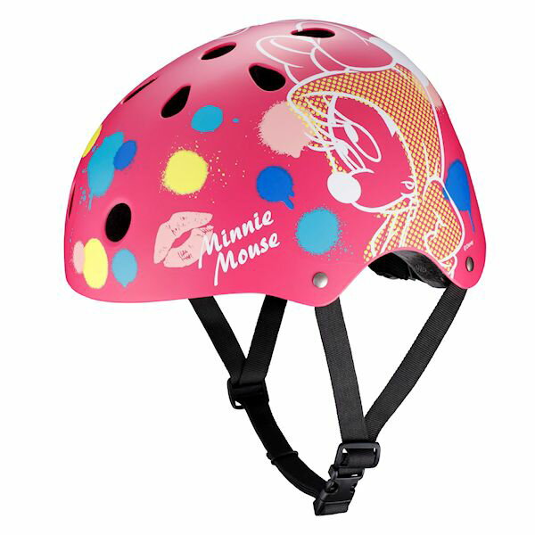 【送料無料】ストリートヘルメット ミニーマウス
