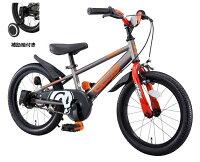 D-BikeMaster/ディーバイクマスター(16インチ/シルバー)補助輪付きタイプ