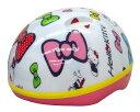 SG対応 ヘルメット ハローキティ(リボン)