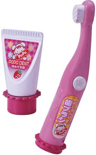 ぽぽちゃん・ちいぽぽちゃん おしゃべり歯ブラシ
