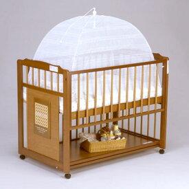 ベビーベッド用 『ベッド用 折りたたみかや』(レギュラーサイズ) 日本製 ベビー寝具 ベビー用 かや 虫除け