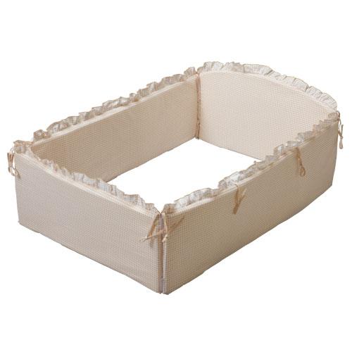 『ミニ コーナーパッド 全周 T-1』(ミニベッド用) 日本製 ベッドガード 安心のサイドガード
