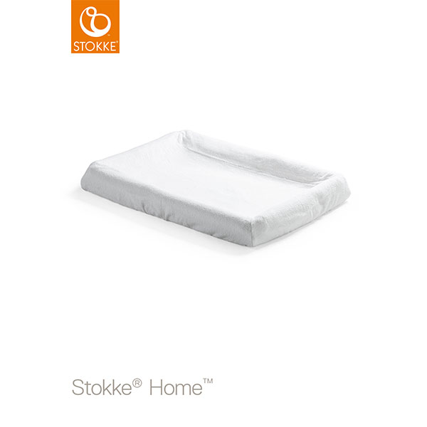 【STOKKEストッケ正規販売店】ホームチェンジャー用マットレスカバー2枚セット(ホワイト)ヤマト運輸DM便(ポスト投函)でのお届けとなります(代引き不可)