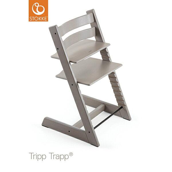 【ストッケ正規販売店】ストッケトリップトラップオークStokke Tripp Trapp Chair Oak(オークグレーウォッシュ)