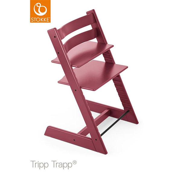 【ストッケ正規販売店】ストッケトリップトラップStokke Tripp Trapp Chair(ヘザーピンク)