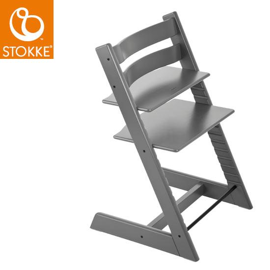 【ストッケ正規販売店】ストッケトリップトラップStokke Tripp Trapp Chair(ストームグレー)