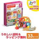 MAGFORMERSマグ・フォーマー/ファンシールームセット33ピース(イマジネーションシリーズ)