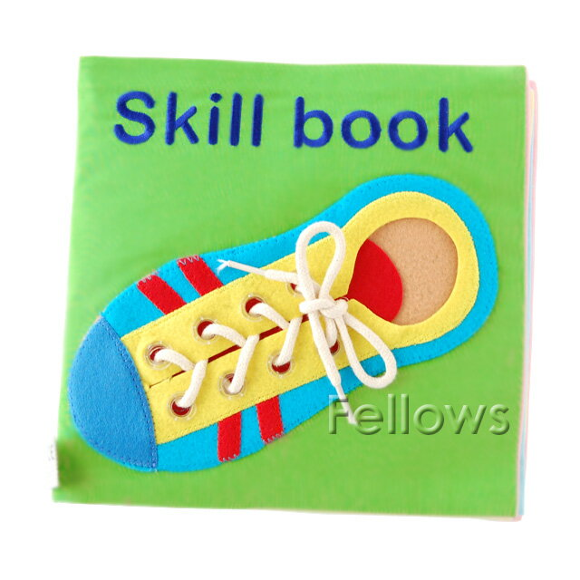 布のおもちゃ・布絵本 できるかな2【Skill Book】【お誕生日】3歳:男【お誕生日】3歳:女【お誕生日】4歳:男【お誕生日】4歳:女