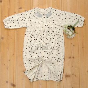 センスオブワンダースター兼用ドレス男の子ブラック/エクリュ日本サイズ:50〜70cm(新生児〜6ヶ月)