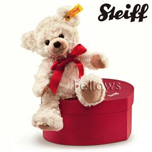 【送料無料】Steiff テディベア スウィートハート ハートのケース入り 109904 サイズ:22cm プレゼント ギフト 子供 女の子