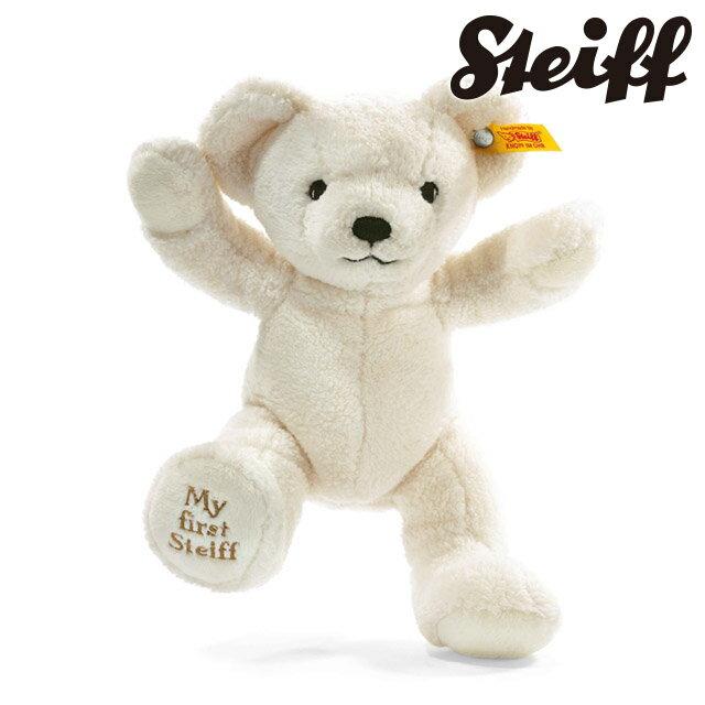 Steiff シュタイフ マイファースト シュタイフ テディベア クリーム(ホワイト)664021 サイズ:24cm プレゼント 子供