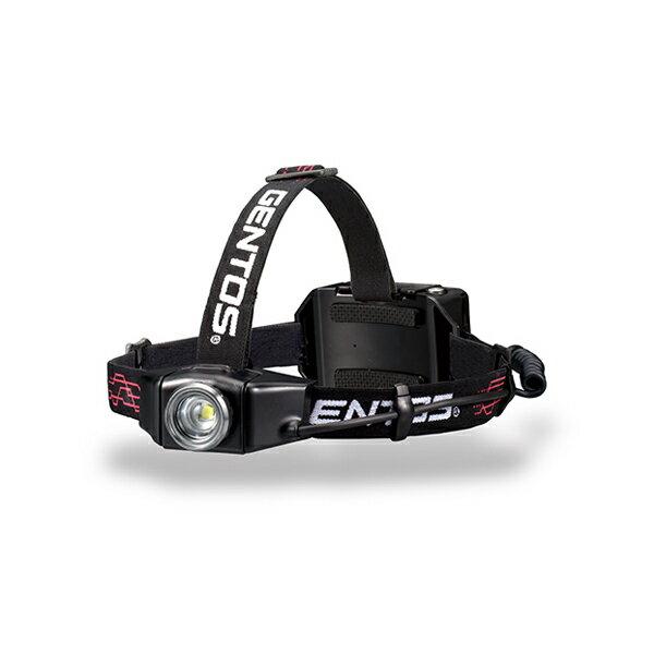 ジェントス LEDヘッドライト 500ルーメン GH-003RG