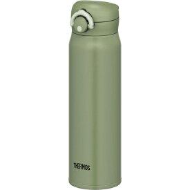 サーモス 水筒 真空断熱ケータイマグ ワンタッチオープンタイプ カーキ 750ml JNR-751 KKI