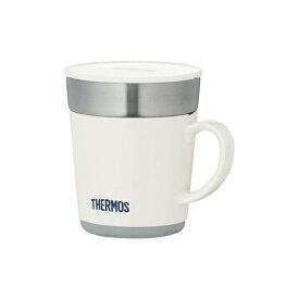 サーモス 保温マグカップ 240ml ホワイト JDC-241 WH