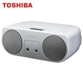 東芝 CDラジオ プレイヤー ワイドFM対応 TY-C150S