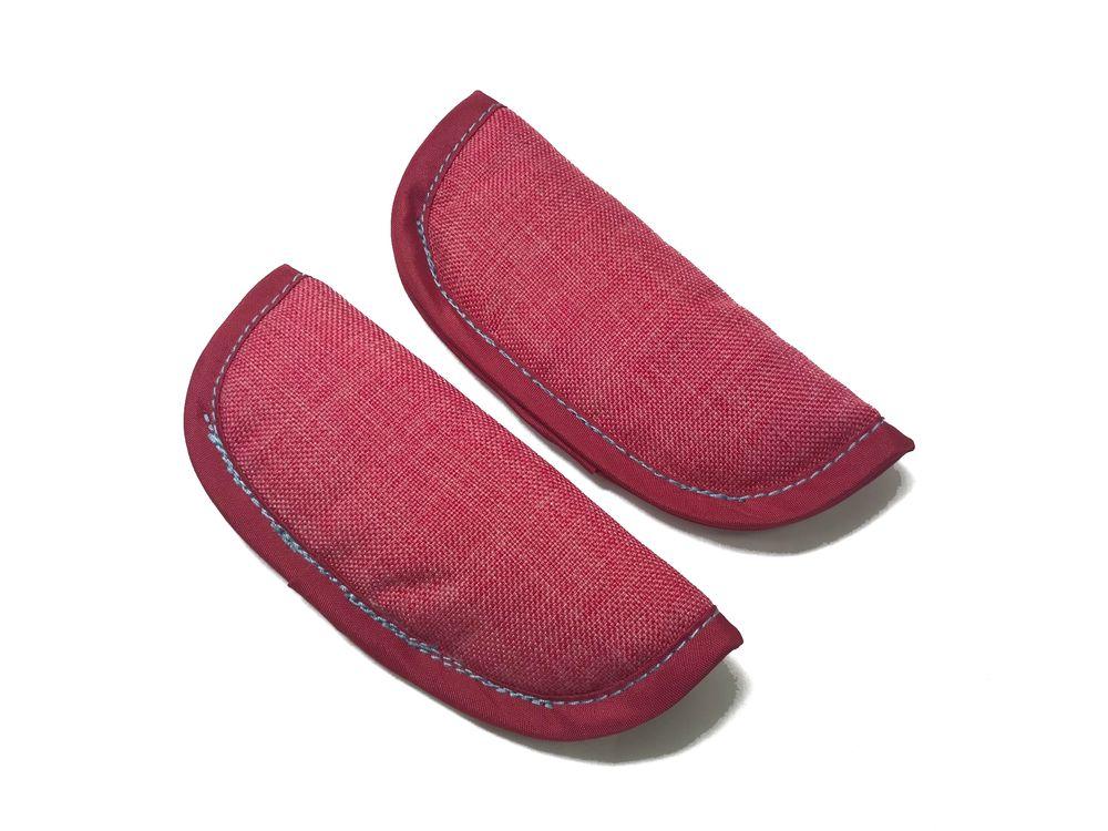 ベビーカーポキット用 肩ベルトカバー ピンク