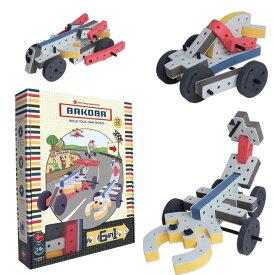 Bakoba Building Box2 面取り加工 安全基準 玩具 おもちゃ 知育 想像力 創造力 成長 かわいい おしゃれ カラフル ぬくもり 種類 色々 エデュテ