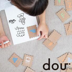 #008 ABC stamp 木のおもちゃ 知育玩具 教育玩具 dou? 木製 おもちゃ