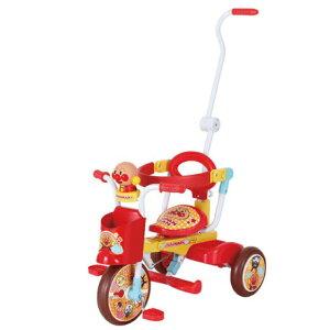 \無料ギフトボックス対応/アンパンマンオールインワンUP2 アンパンマン 三輪車 デザイン 機能 スタイリッシュ 優秀 子供 キッズ ファミリー シンプル ステップ付き スマート 安心 押棒