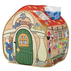 【クレカ5%還元】トゥーンタウン あそびと知育のボールハウス ミッキーマウス ドナルド グーフィー ボールハウス ボールプール おしゃれ かわいい カラフル ディズニー グッズ アニメ おもちゃ 最新 秘密道具 人気 プレイハウス キッズスペース