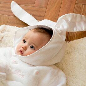"""出産祝い 名入れ 女の子も男の子も 3歳すぎまで長ーく着られる""""ふわっふわ""""【お名前入りバスローブのセット】 1歳のお誕生日にも(赤ちゃん ベビー バスローブ 出産祝い バスタオル タオル 内祝い お風呂 布団 ベビーグース)【BOX付き】"""