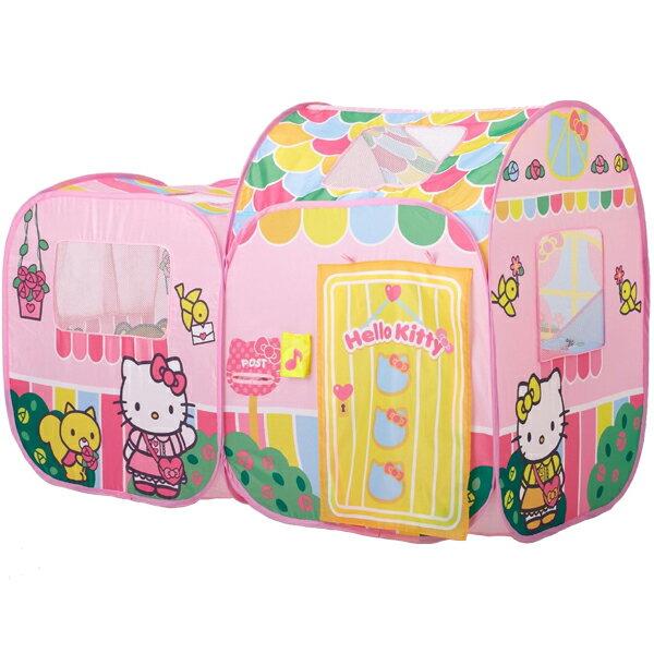 ハローキティ あそびにおいでよ ままごとハウス テントハウス テント遊具 子供用室内 持ち運び袋付き ボール付き 女の子向け 【ワールド 野中製作所】
