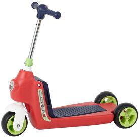 へんしん!ライダーαレッド スクーター キックボード ランニングバイク 足けり乗用玩具 へんしんライダー 子供用 【ワールド 野中製作所】