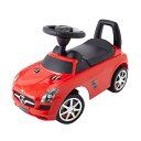 乗用メルセデスベンツ SLS AMG レッド 乗用玩具 足けり乗用 押し車 子供用乗り物【ワールド 野中製作所】送料無料(北…