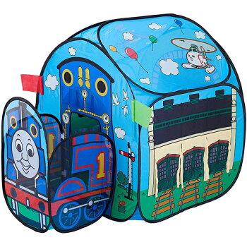 きかんしゃトーマスソドー島のボールハウステントハウステント遊具子供用室内持ち運び袋付きボール付【ワールド野中製作所】