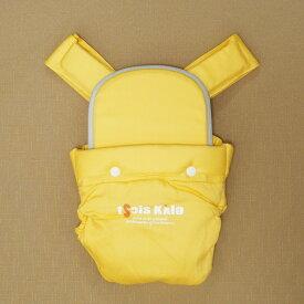 昔ながらのバッテンおんぶひも 日本製 使いやすいコンパクトデザイン おんぶ紐 ばってん 抱っこひも 黄色 イエロー OPPER クロス 専用紐
