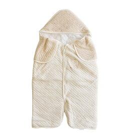 新生児ベビー 足つきベビーアフガン おくるみ 赤ちゃんの準備品 男の子 女の子 オーガニックコットン 日本製 防寒