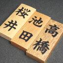 表札 木製 浮き彫り 江戸組子職人・田中さん 【ギフト包装無料】【送料無料】
